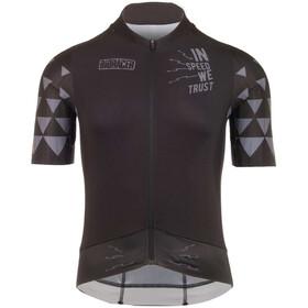 Bioracer Speedwear Concept SS Jersey RR Men, black-in speed we trust